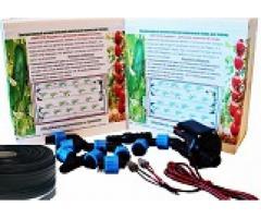 Контроллер полива с датчиком влажности почвы и системой капельного полива