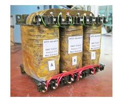 Линейка трехфазных трансформаторов (1-400 Вт) типа НТЛ-(50,400,1000 Гц)