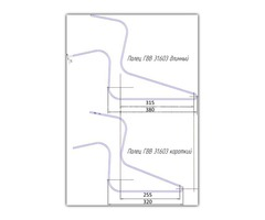 Палец ГВВ 31.603 (6, 7 мм) для граблей ГВВ, ГКП, ГВК